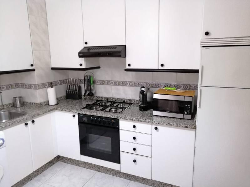 horno microondas cocina