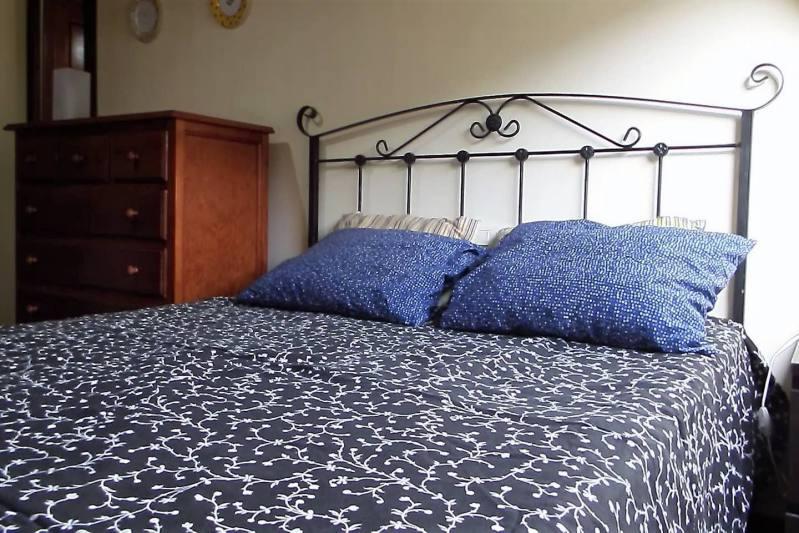 dormitorio atico baiona