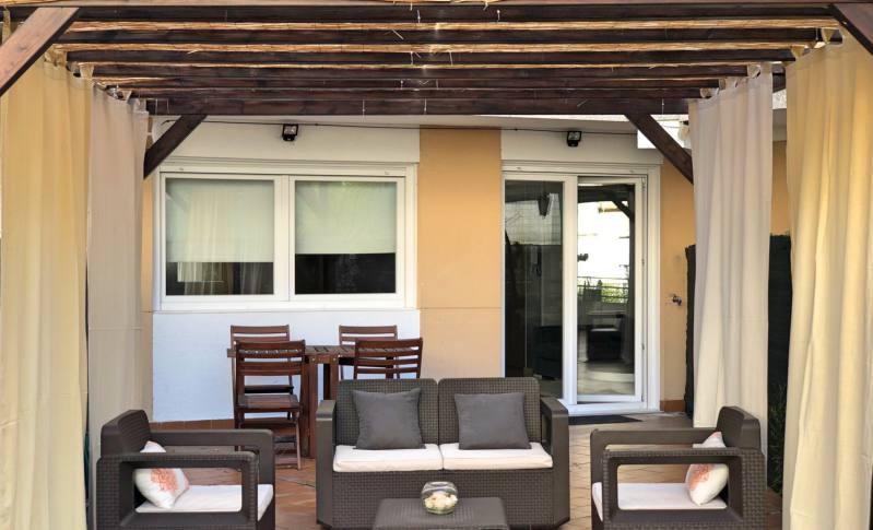 Terraza Apartamento Pilar