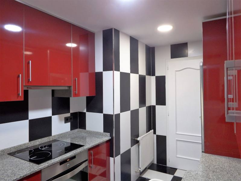 apartamento vila pardal cocina