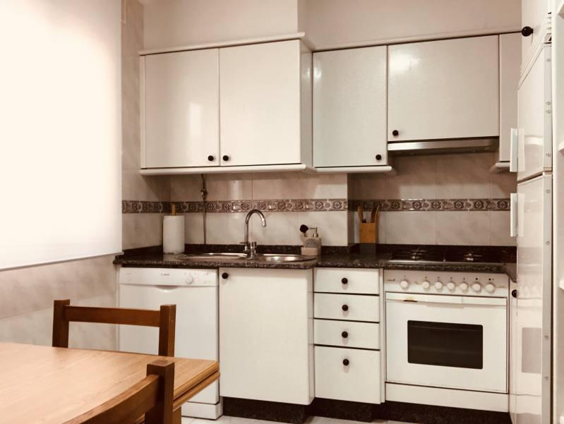 Cocina Apartamento Sanxenxo Familiar 2B