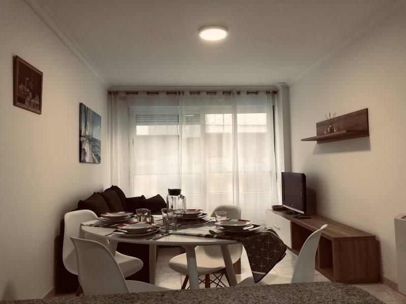Cocina americana Apartamento Sanxenxo 2G