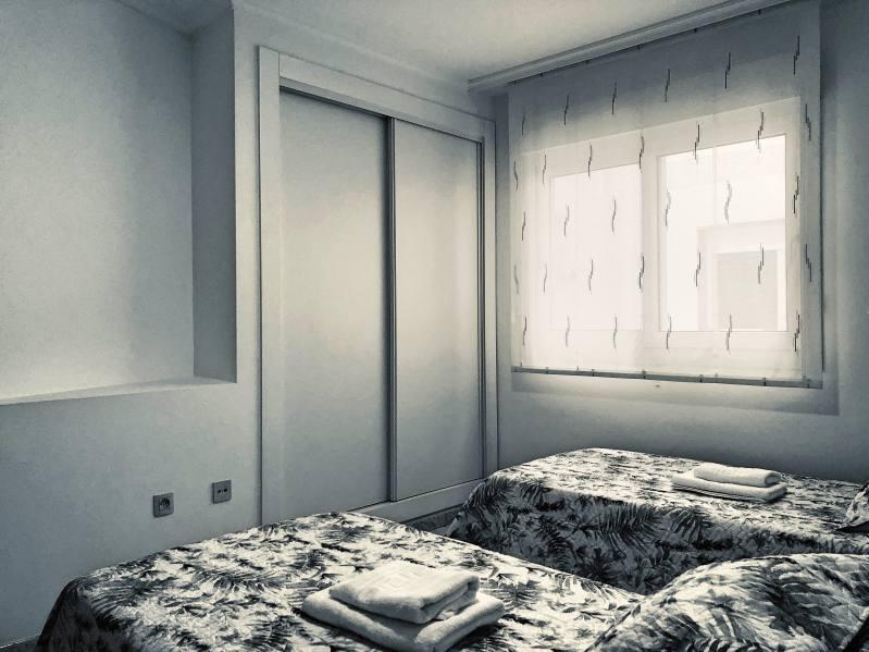 Dormitorio Apartamento Sanxenxo 2D