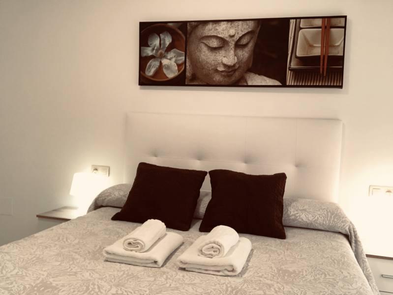 Dormitorio Apartamento Sanxenxo 2G