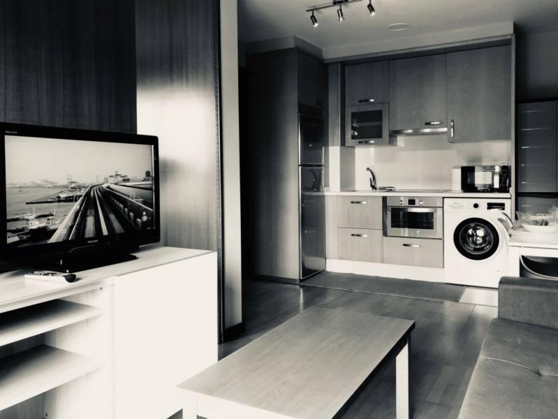 Salón Cocina Apartamento Aragón