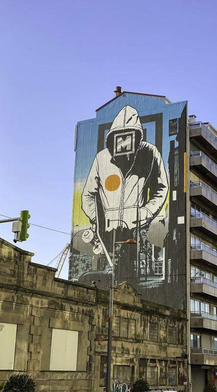 arte urbano Vigo